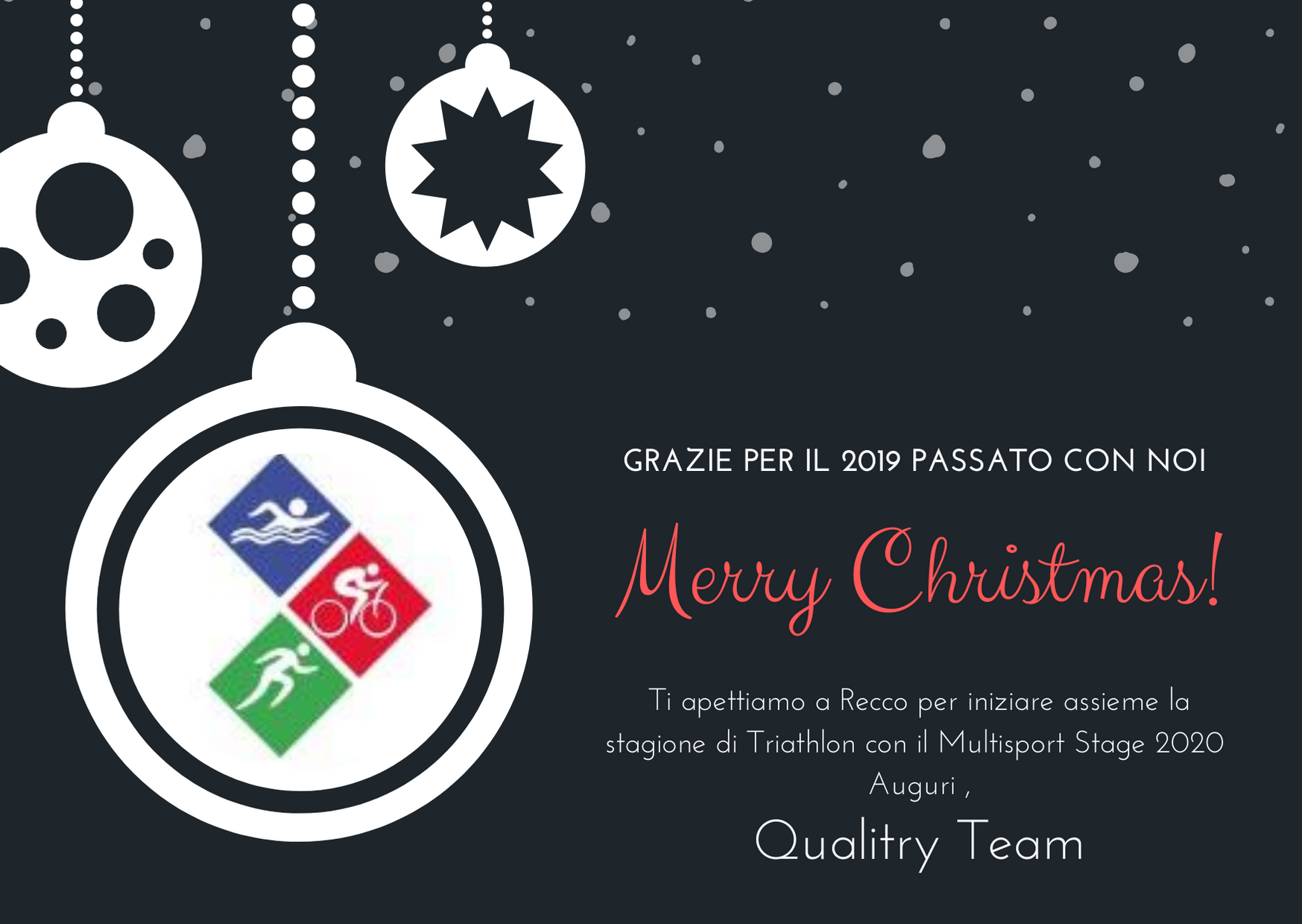 Merry Christmas dal Team Qualitry